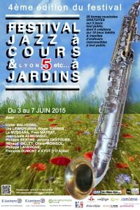 AFFICHE Jazz à Cours 2015